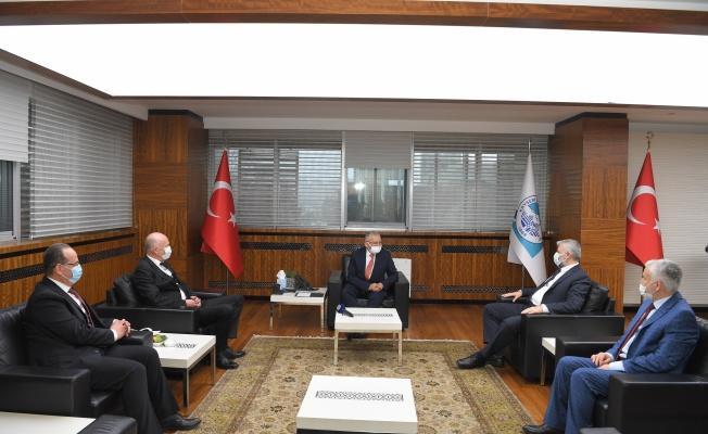 Bosnalı heyetten Başkan Büyükkılıç'a ziyaret