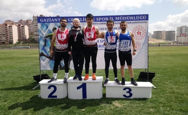 Görme Engelliler Atletizm Türkiye Şampiyonası'nda Kayseri rüzgarı