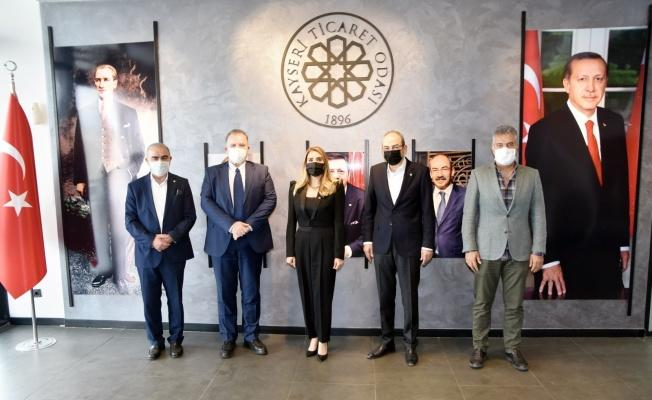 Hırvatistan Ankara Büyükelçisi'nden KTO'ya ziyaret