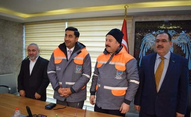 Hizmet İş'ten Başkan Palancıoğlu'na teşekkür