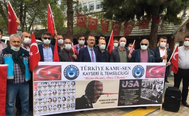 """Kamu-Sen: 'Biden Türk milletinden özür dilemeli"""""""