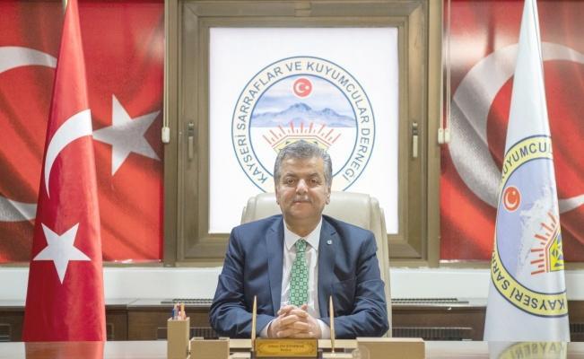 Kayseri Sarraflar ve Kuyumcular Derneği Başkanı Adnan İncetoprak kuyumcuları uyardı