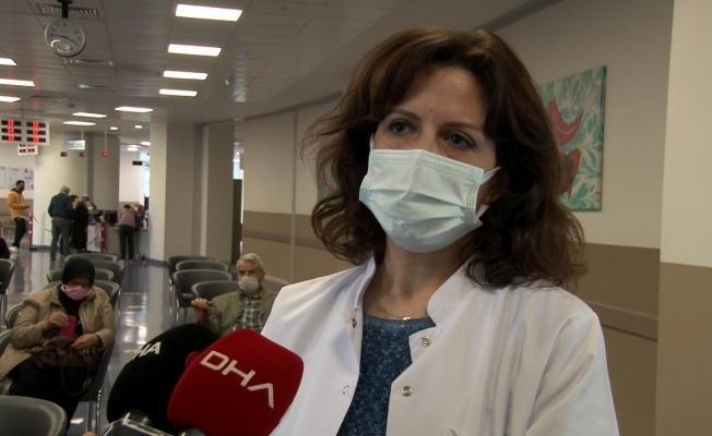 """Kayseri Şehir Hastanesi Başhekim Yardımcısı Saatçi: """"Biontech yüzde 97 üzerinde antikor oluşturuyor"""""""