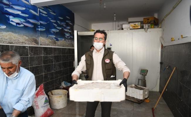 Kayseri'de kaçak sazan ve yayın balığı ele geçirildi