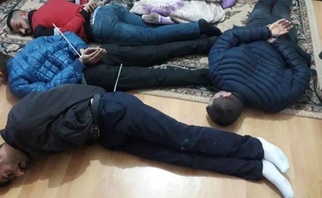 Kayseri'de uyuşturucu madde ticareti yapan 46 kişi yakalandı