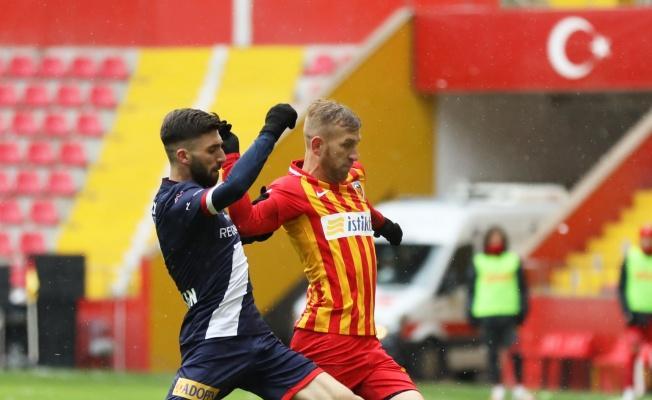 Süper Lig: Kayserispor: 0 - Antalyaspor: 1  (İlk yarı)