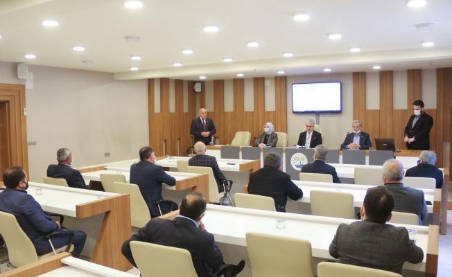 Yahyalı'da Nisan Ayı Meclis Toplantısı Yapıldı