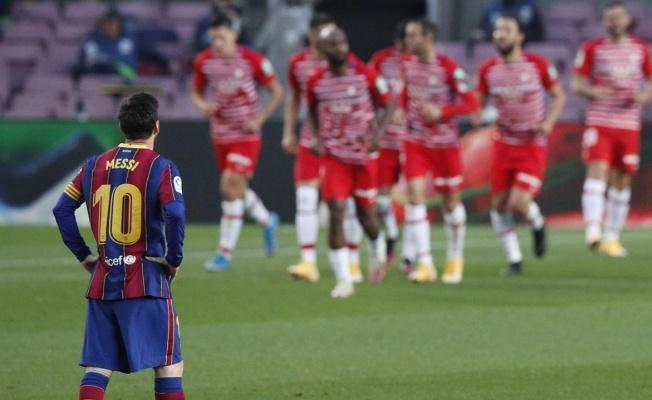 Barcelona liderliği elinin tersiyle itti!   Levante 3-3 Barcelona
