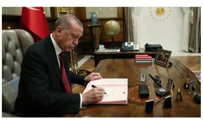 Cumhurbaşkanı Erdoğan 'dan 2 bakanlığa önemli atamalar Resmi Gazete'de