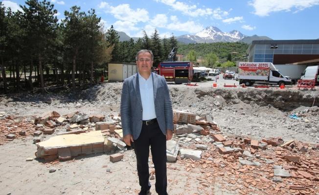 Halit Özkaya Kütüphanesi yapımına başlandı