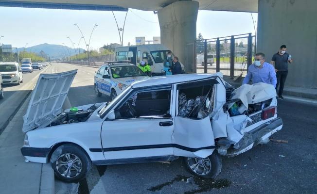 Kayseri'de zincirleme trafik kazası: 4 yaralı!