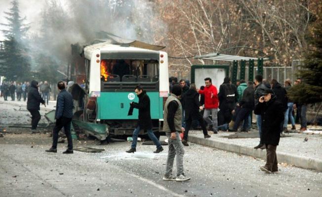 Kayseri'de 15 askerin şehit olduğu patlamanın yargılamasına devam edildi