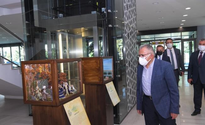 Kerem ile Aslı sergisi, Büyükşehir'de