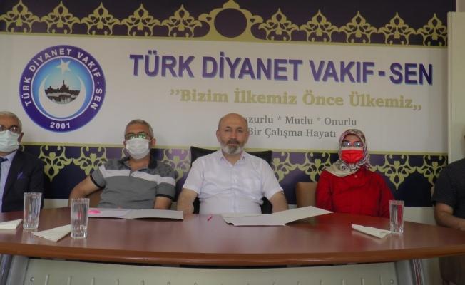 Türk Diyanet Vakıf-Sen ve Yesevi Yardım Hareketi'nden Filistin'e yardım protokolü