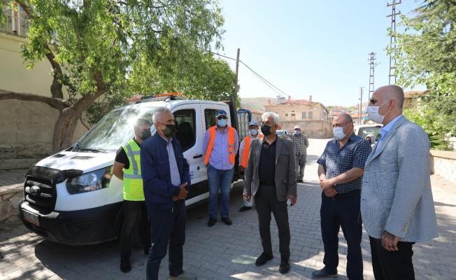 'Yatırımlar Yılı'nda Talas'ta gidilmedik yer kalmıyor