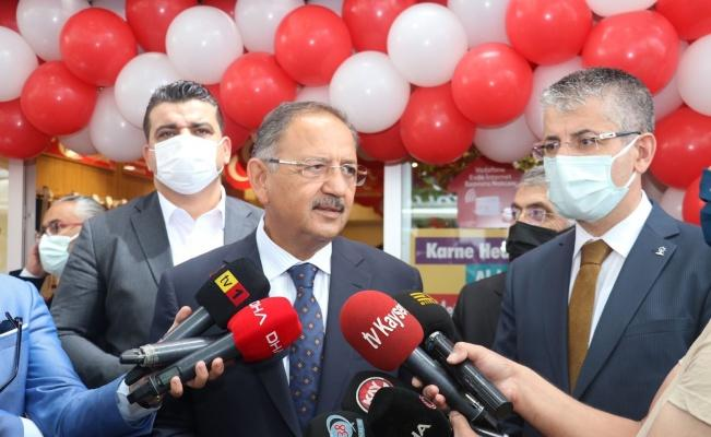 """AK Parti Genel Başkan Yardımcısı Özhaseki: """"Her seçimde muhalefetin sırtı yerden kalkmıyor"""""""