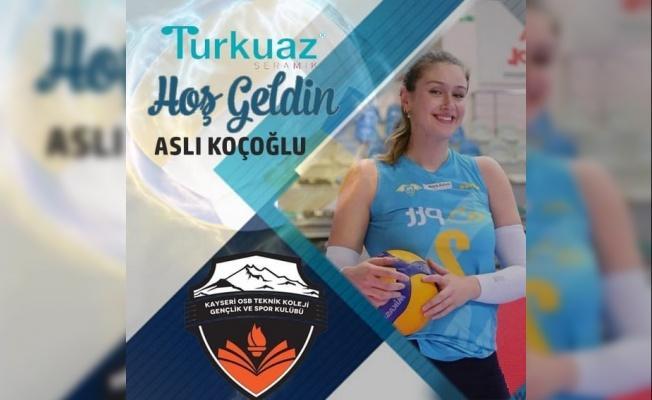 Aslıhan Koçoğlu Turkuaz Seramik Kayseri OSB Teknik Koleji'nde