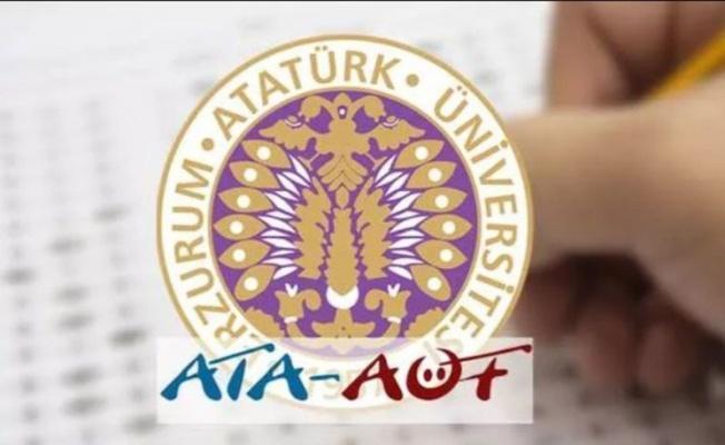 ATA AÖF final sınavı sonuçları açıklandı... ATA AÖF OBS sınav sonucu sorgulama ekranı 10 Haziran 2021!