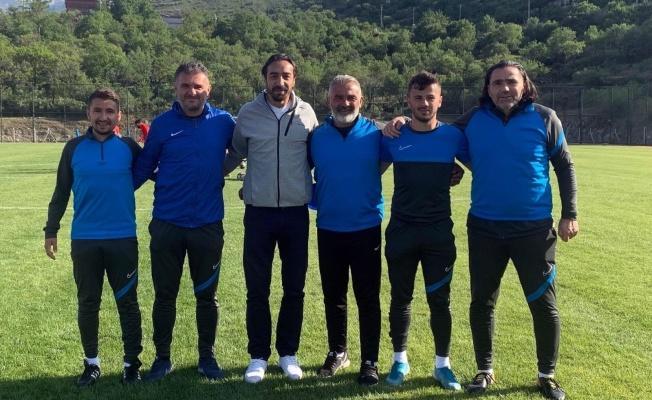 İbrahim Öztürk, Talasgücü Belediyespor'u ziyaret etti