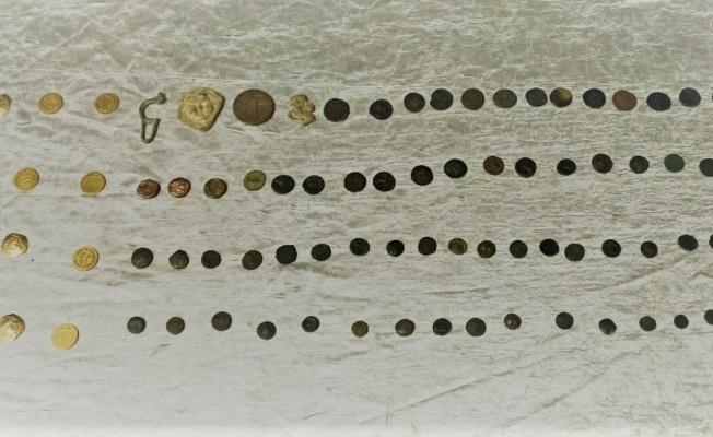 Kayseri'de 103 adet sikke ele geçirildi