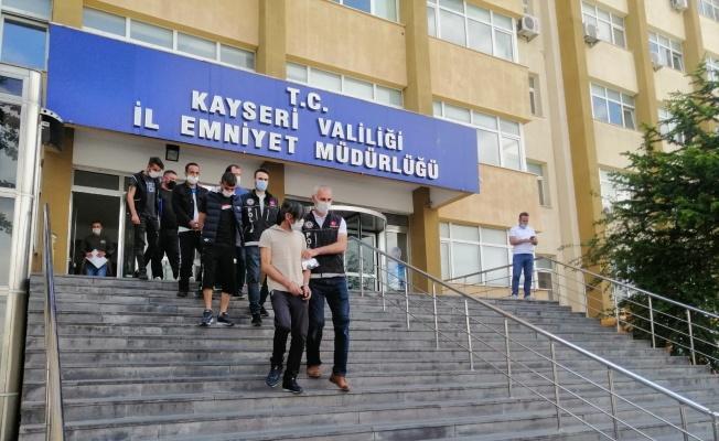 Kayseri'de uyuşturucu operasyonu: 1'i kadın 6 gözaltı