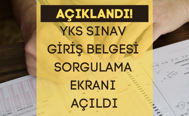 ÖSYM'den YKS açıklaması... YKS Giriş belgeleri erişime açıldı