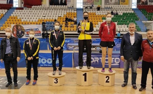 Özge Yılmaz, Türkiye Şampiyonu oldu