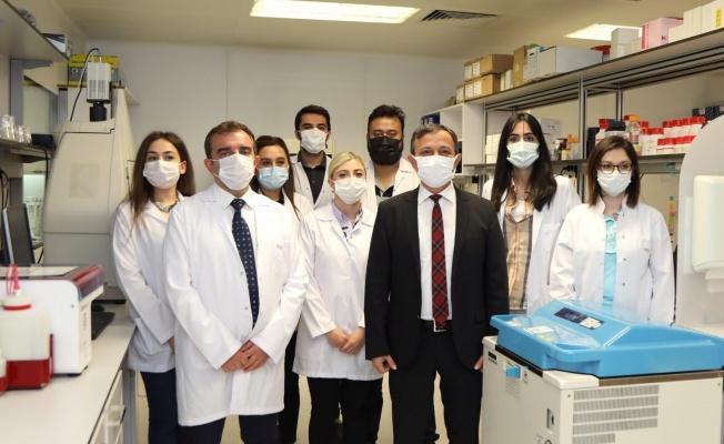"""Rektör Çalış: """"Erciyes Üniversitesi tarafından geliştirilen aşının Türk ismiyle anılması bizi gururlandırdı"""""""