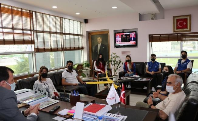 Sancaktar takımından Kabakcı'ya ziyaret