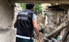 Kayseri'de 327 polisle uyuşturucu operasyonu!